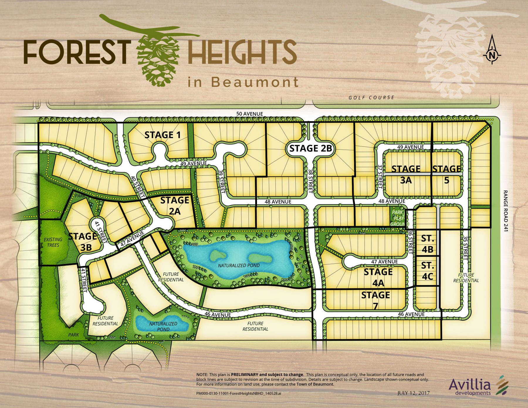 Forest Heights – Community Map