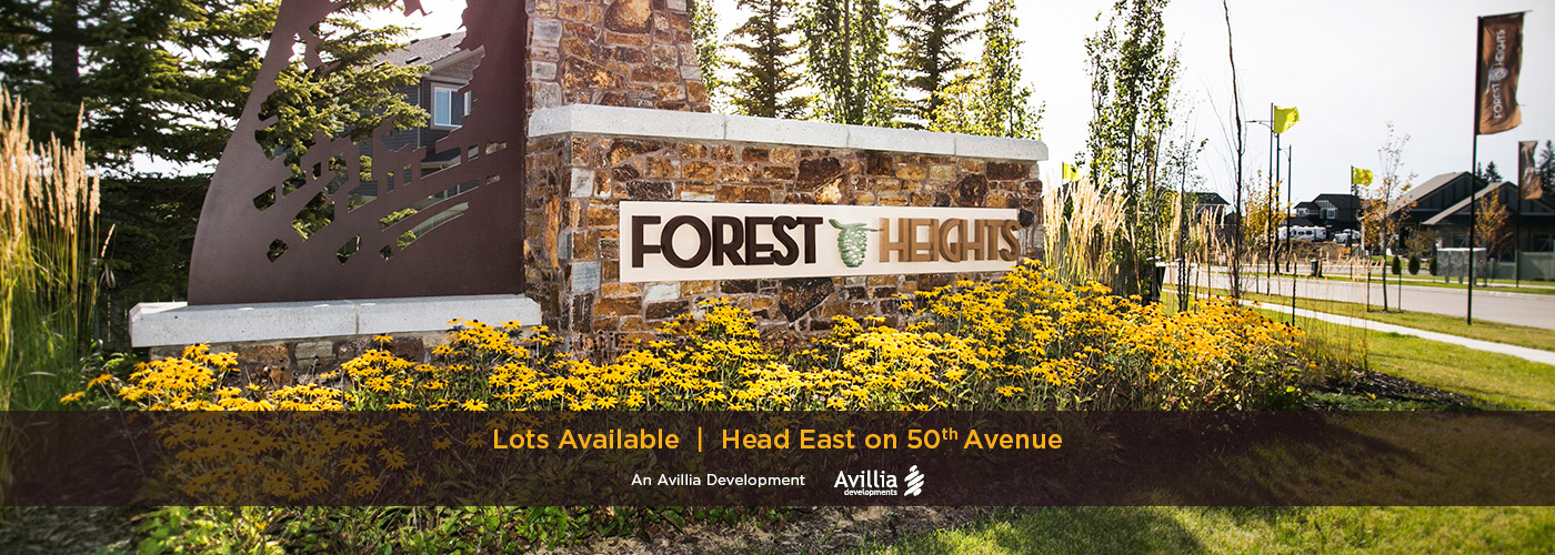 Forest Heights Beaumont Entry Feature