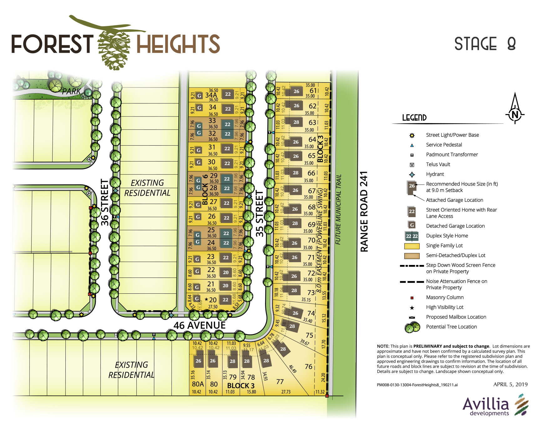 Forest Heights – Stage 8