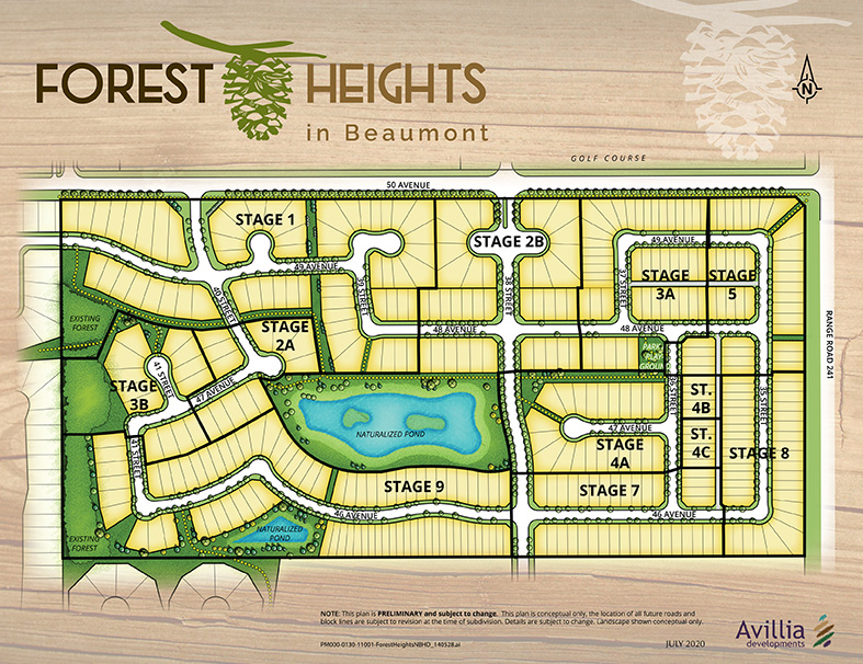 Forest Heights – Community Map Updated